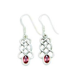 07d0ab5ac97ca CE1908 STERLING SILVER EARRING WITH STONE – BLAKE SLC
