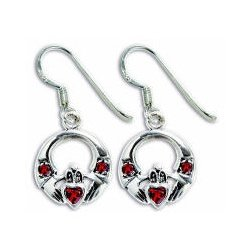 b9bd898f00e3a CE3117 STERLING SILVER EARRING WITH GENUINE STONE – BLAKE SLC