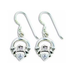c512b27570977 CE4222 STERLING SILVER EARRING WITH STONE – BLAKE SLC